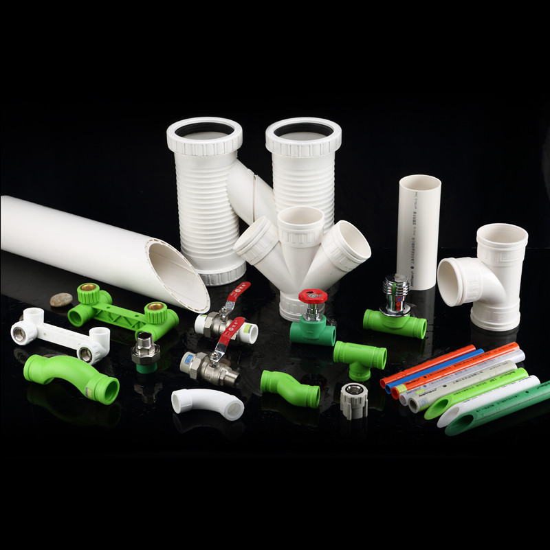 Hot / Cold Water Ppr Plastic Water Pipe Non Toxic With Higher Flow Capacity