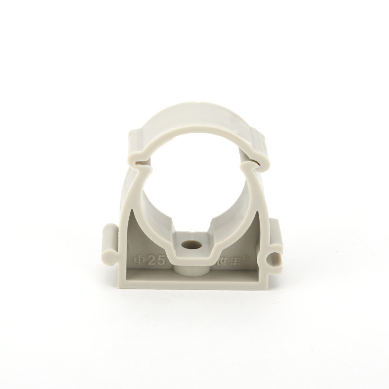 Casting Low Foot U Type Pipe Clamp Corrosion Resistant For Cold / Hot Water Supply